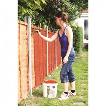 Tanin rouge solution monocouche pour bois extérieur brut jardin palissade...