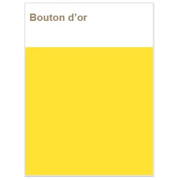Décojoint Eclat  Bouton d'Or