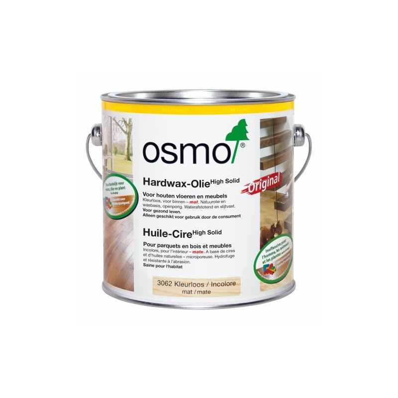 HUILE-CIRE ORIGINAL Incolore Mate 2.5L Osmo