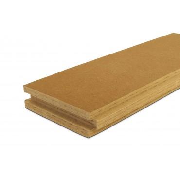 Steico Intégral 120mm isolant pare-pluie et support d'enduit pour le sarking ossature bois et murs maçonnés