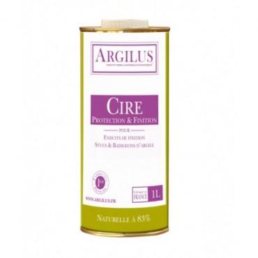 Cire pour Badigeon d'Argile Argilus Pot de 1L