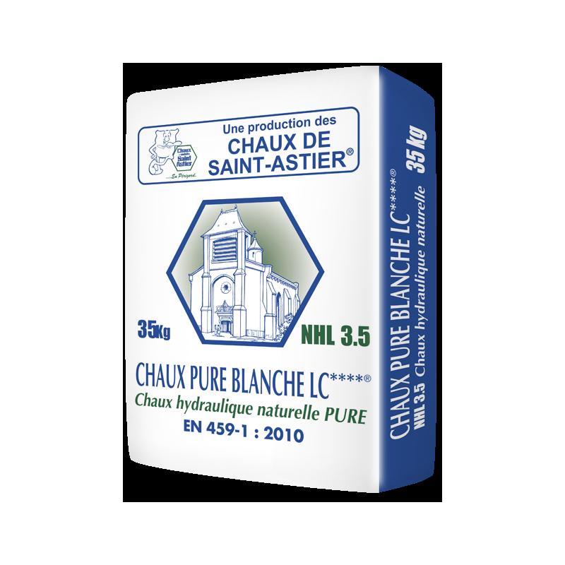 Chaux pure blanche NHL 3.5 Saint Astier