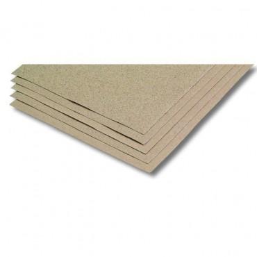 Lot de 3 Feuilles Papier Corindon Gros Grain