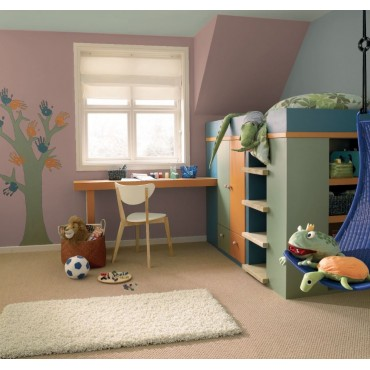 Argo Peinture écologique naturelle Galtane EOS 2 Mat Lavable chambre d'enfant
