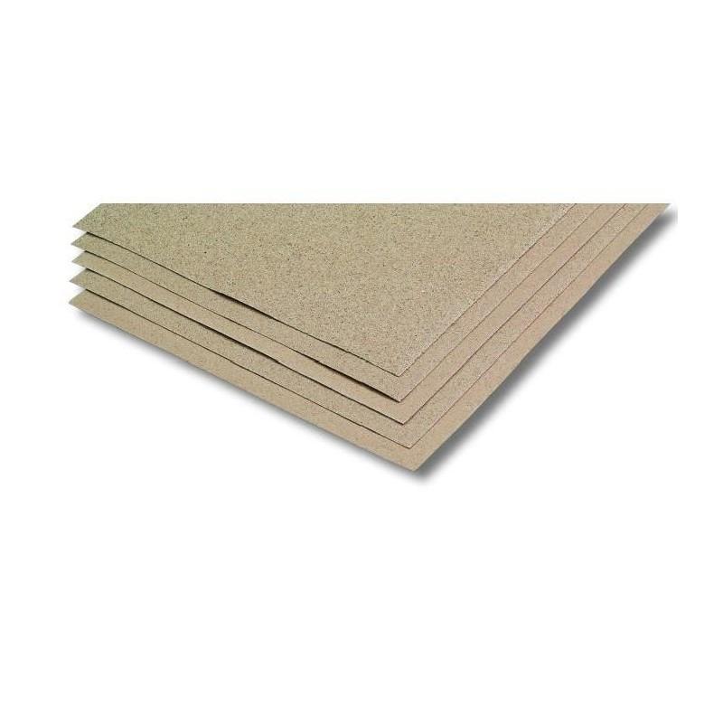 Lot de 3 Feuilles Papier Corindon Grain Fin