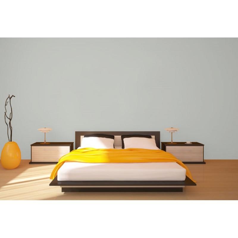 Bleu Campanule Peinture écologique Mat Lavable Galtane EOS 2 chambre