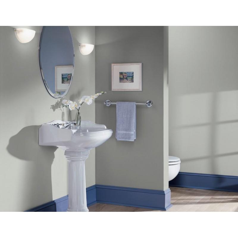 Bleu Campanule Peinture écologique Mat Lavable Galtane EOS 2 salle de bain