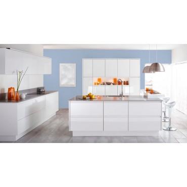 Bleu Lavande Peinture écologique Mat Lavable Galtane EOS 2 cuisine
