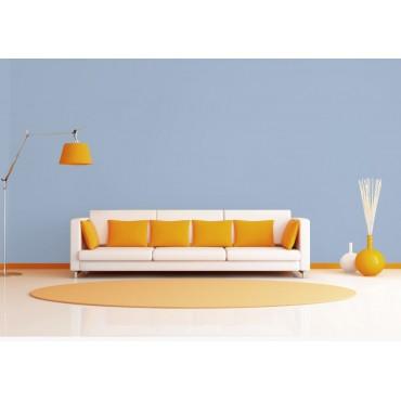 Bleu Lavande Peinture écologique Mat Lavable Galtane EOS 2 salon séjour salle à manger