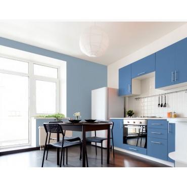 Boucan Peinture murale naturelle bio Bleue écologique Mat Lavable Galtane EOS 2 cuisine
