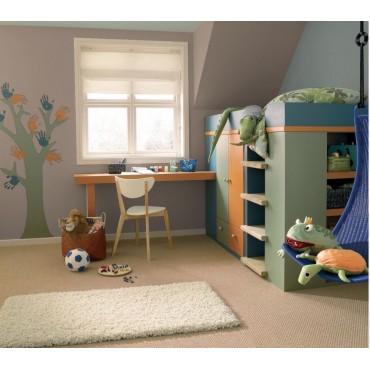 Cygnus Peinture naturelle bio écologique Mat Lavable Galtane EOS 2 chambre d'enfant