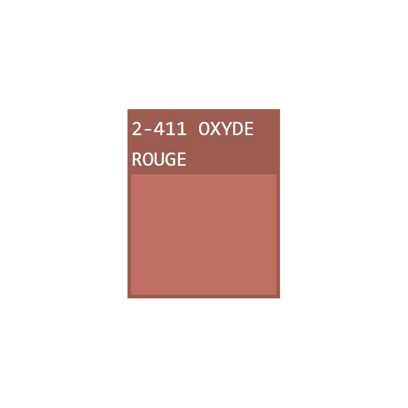 Oxyde Rouge Peinture murale écologique naturelle Mat Lavable Galtane EOS 2