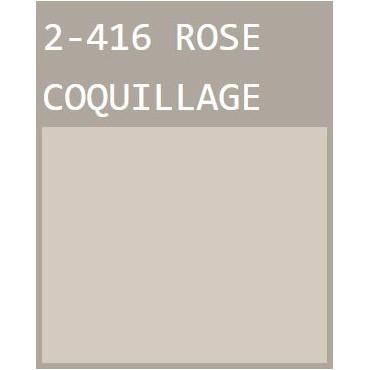 Rose Coquillage Peinture murale écologique naturelle Mat Lavable Galtane EOS 2