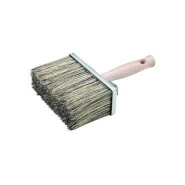 BROSSE RECTANGLE SOIE 160 X 65 MM.