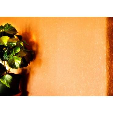 Enduit Argile déco orange sain naturel écologique