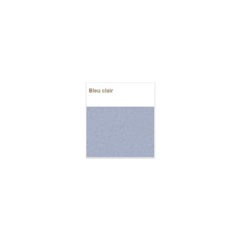 Enduit Argile déco bleu clair sain naturel écologique