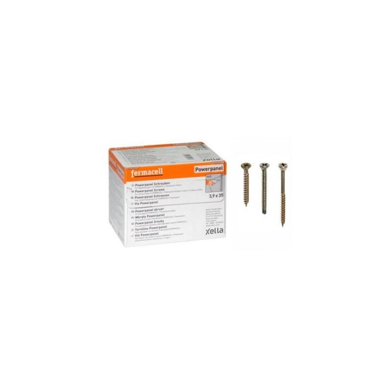 Vis anti-corrosion Fermacell boite de 500vis 3,9 x 35 power panel