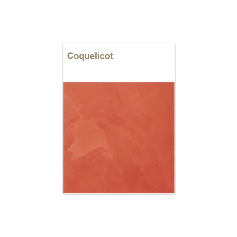 Badistuc Coquelicot pour Stuc et badigeon à la chaux naturel écologique bio