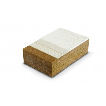 Protect M Dry 200mm R+L 125 x 600 pour l'isolation thermique par l'extérieur ou l'intérieur, support d'enduit