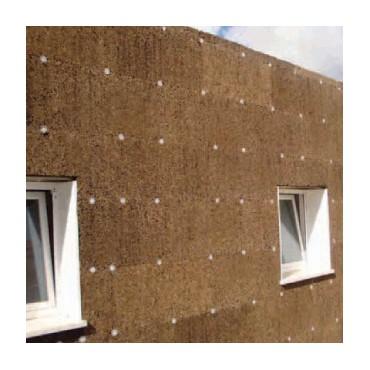 Isolant Liège 10mm en façade isolation thermique par l'extérieur