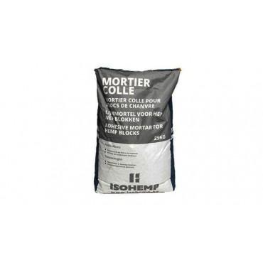 Mortier Colle Isohemp pour Blocs de Chanvre Sac de 25 Kg