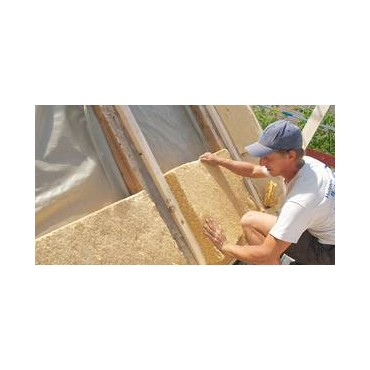 Isolant thermique et acoustique naturel écologique biosourcé fibre de bois Steico