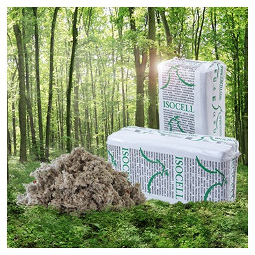 Ouate de Cellulose fibre Paquet de 10 Kg