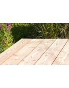 Les huiles protègent le bois de vos terrasses