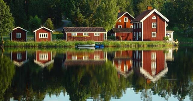 La peinture suédoise : Peinture à l'ocre ou peinture à la farine